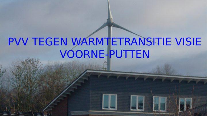 PVV Nissewaard TEGEN warmtetransitievisie Voorne-Putten