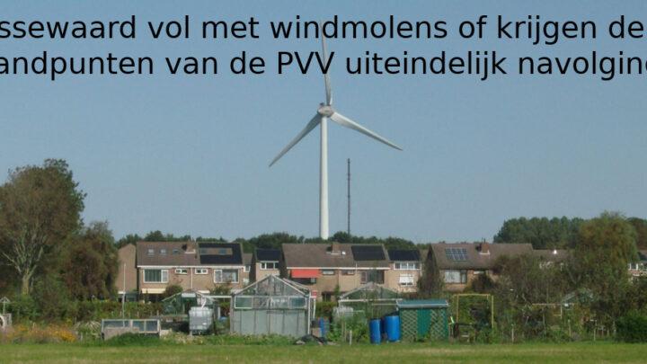 Wordt het Nissewaard vol met windmolens of krijgen de standpunten van de PVV uiteindelijk navolging?