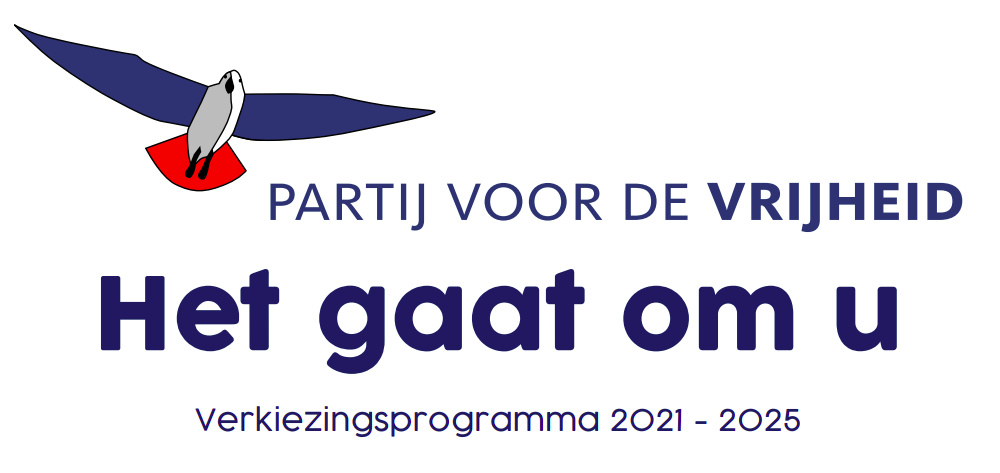PVV Verkiezingsprogramma 2021-2025. Het gaat om u. Deel 1 – Voorwoord