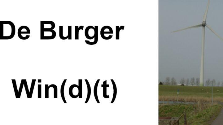 De Burger Win(d)(t)