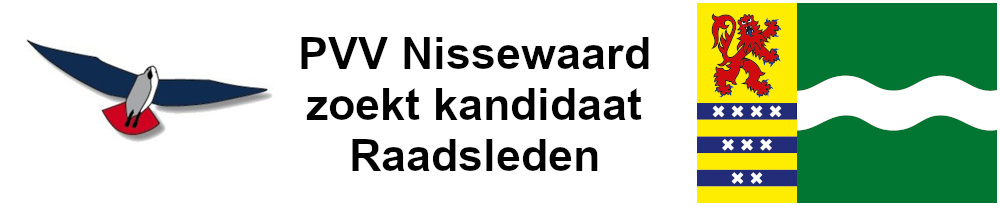 PVV Nissewaard zoekt kandidaat Raadsleden